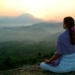 sun rising meditation
